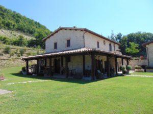 Esterno Rocca del Nera